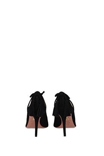Aquazzura Pumps Forever Marilyn Women - Suede (fommidp0sue) Eu Nero