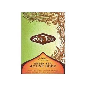 YOGI TEA,OG3,GRN,MUSCLE RECOVE, 16 BAG by YOGI
