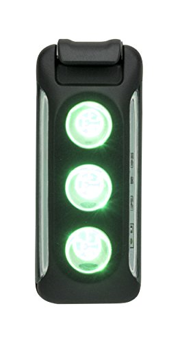 Nathan LUX Running / Bike Strobe Light LED Clip-on. USB Rechargeable Safety Gear. Night Run. Winter / Dark / Hiking, Walking.