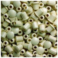 Plastic Plugs Almond (WIDGETCO 3/16