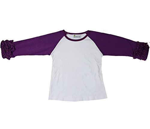 Kirei Sui Girls Long Sleeve Icing T-Shirts 6 Purple