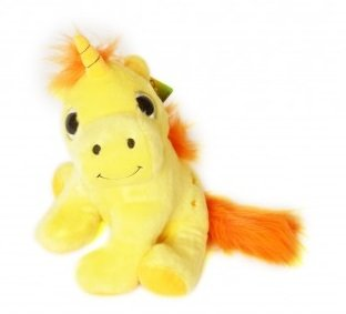 Les Licornes Magiques - Peluche Unicornio Amarillo 30cm - Muy buena calidad - Surtido de colores