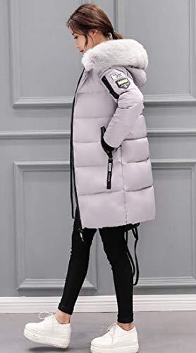 Women's EKU Zipper Thickened Jacket up Coats Outwear 7 Down Puffer PdrdUqw