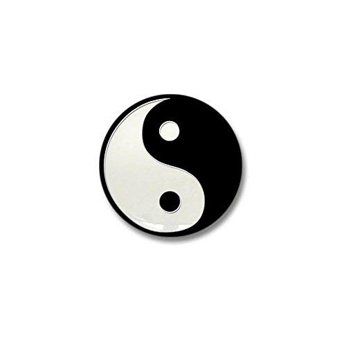 (CafePress Black Yin Yang 1