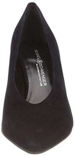 Kennel und Zapatos con para Cerrada Mujer Punta 388 Schmenger Tacón Azul Ocean de Liz rrqwtxpUd