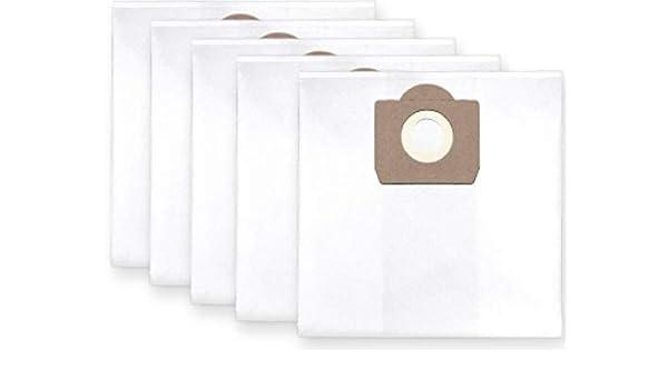 5x bolsas para aspirador tejido Parkside PNTS 1300, PNTS 1400, PNTS 1500: Amazon.es: Bricolaje y herramientas