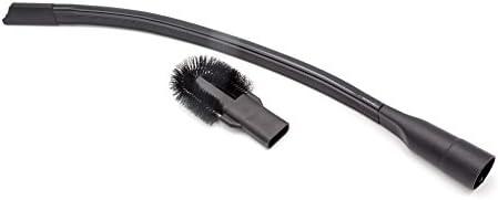 vhbw® Boquilla de grietas con cepillo (32mm-35mm) para aspiradoras compatible con AEG, Bosch, DeLonghi, Dirt Devil, Dyson.: Amazon.es: Bricolaje y herramientas