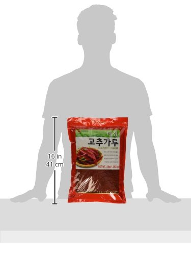 (3 LBs) Korean Red Chili Flakes, Gochugaru, Hot Pepper Type Powder By Tae-kyung by Tae-kyung (Image #5)