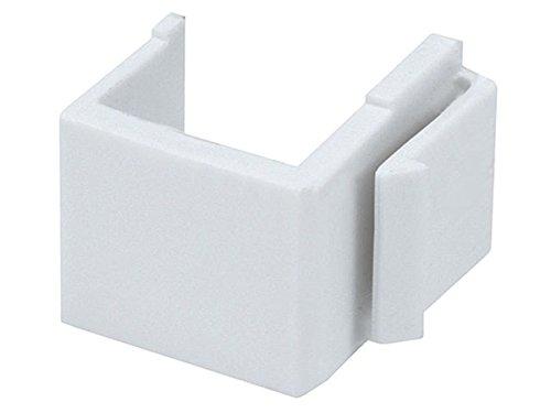 Monoprice Blank Insert For Wall Plate - (White) (3 Packs of 10)