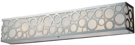 Elk 31023 4 Retrovia 4-Light Vanity in Polished Nickel
