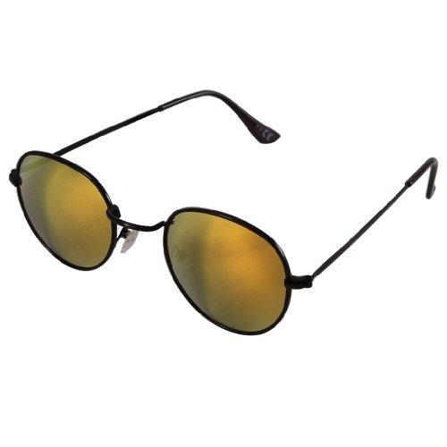Soleil Unisexe Lunettes Lennon Métal De Chic Miroir Hippie net Verres Orange 400 Petits Coloré John Uv Bq5Uqpw