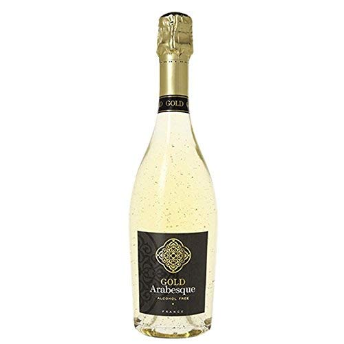 (Pierre Chavin Gold Arabesque 24 Karat Non-Alcoholic Sparkling White Wine 750ml)