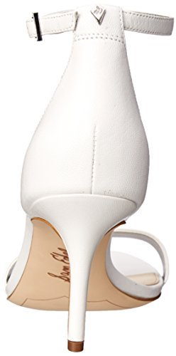 Women Sandal Dress Patti Edelman White Sam qwP5C8W