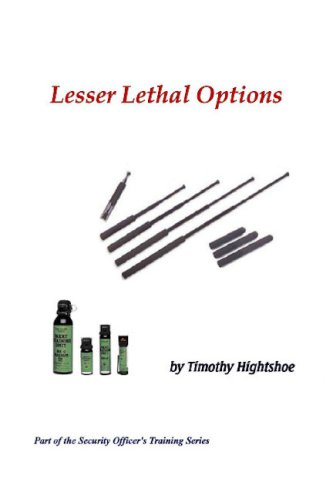 Lesser Lethal Options (Police Steel Expandable Baton)