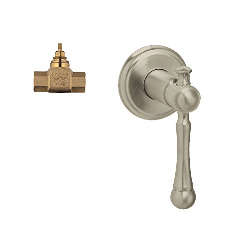 Grohe K19329-29274R-EN0 Bridgeford Volume Control Kit, Brushed Nickel