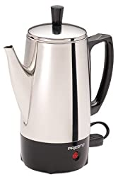 National Presto Ind 02822 Coffee Percolator, Stainless Steel, 6-Cup from National Presto Ind
