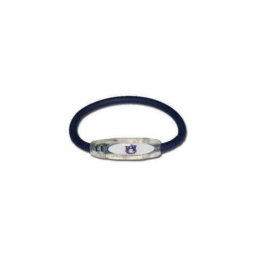 (NCAA Auburn Tigers Active Wristband, Blue, Small)