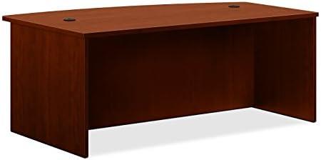 HON BL Laminate Series Office Desk Shell – Rectangular Desk Shell, 72w x 36d x 29h, Espresso HBL2101