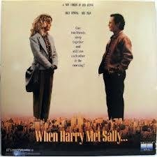 When Harry Met Sally LASERDISC (NOT A DVD!!!) (Loud Screen Format)