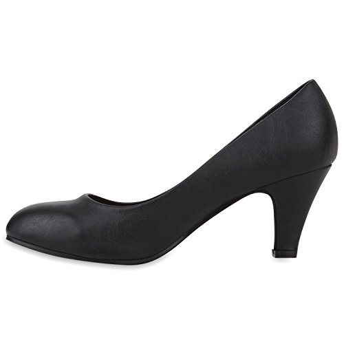 Chiuse Scarpe Stiefelparadies Stiefelparadies Nero Donna Scarpe zRYq8xq
