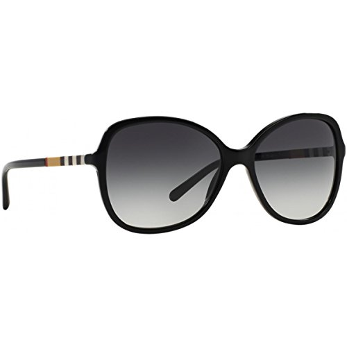 Burberry Women's 0BE4197 Black/Gradient - Burberry Sunglasses