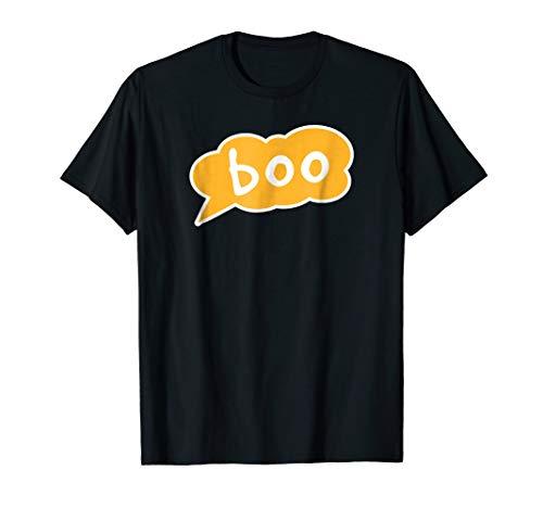 Boo Halloween Funny T-Shirt -