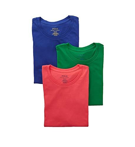 (Polo Ralph Lauren Classic Fit Cotton Crew Neck T-Shirts - 3 Pack (RCCNS3))