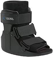 United Ortho Short Cam Walker Fracture Boot, Large, Black