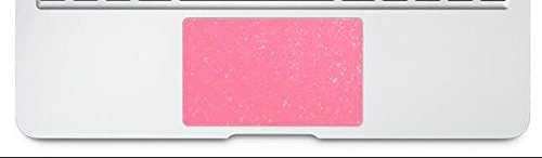 "BingoBuy 5 pieces Trackpad Touchpad Area Decorative Cover Skin Protector Sticker for 15.4"" Apple Macbook Pro without retina display model No. A1286 (Shimmery pink)"
