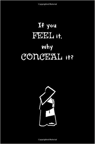 If You Feel It Why Conceal It Blank Journal And Musical Theater