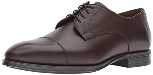 Oxfords Brown Calf (Aquatalia Men's Derek Dress Calf Oxford, Brown, 13 M US)