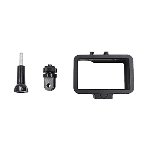 kitt DJI Osmo Accessories, Premium Aluminum Protective Frame Housing Case Shell Cover and Adapter for DJI OSMO Action Camera Sports Camera Accessories ()