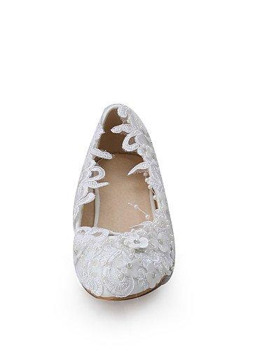 GGX/ Zapatos de boda-Tacones-Cuñas-Boda / Vestido / Fiesta y Noche-Blanco-Mujer , under 1in-us11 / eu43 / uk9 / cn44 , under 1in-us11 / eu43 / uk9 / cn44 under 1in-us9 / eu40 / uk7 / cn41