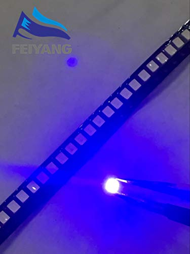 Value-Trade-Inc - 1000PCS/lot SMD LED 2835 Blue Light 0.2W 460-465nm SMD 2835 LED 3.0~3.4V Blue led