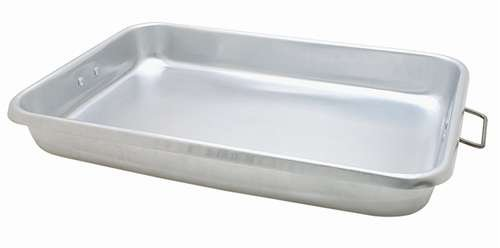 Johnson-Rose 18 Inch X 12 Inch X 2-1/4 Inch Aluminum Roast Pan with Wire Handles
