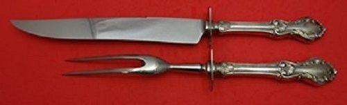 Georgian Shell By Frank Whiting/Concrord Sterling Roast Carving Set 2-Piece