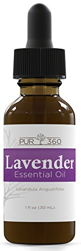 Pur360 Lavender Essential Oil, Lab Tested for Purity, Therap