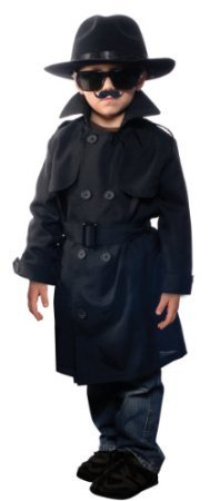 [Jr. Secret Agent Costume - Large] (Jr Secret Agent Kids Costumes)