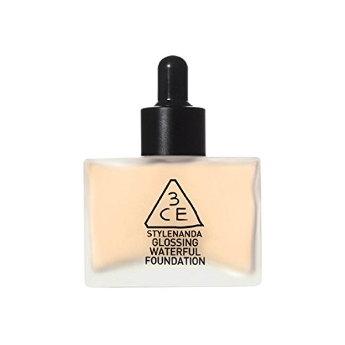 3CEGLOSSING-WATERFUL-FOUNDATION-SPF15PA-40g