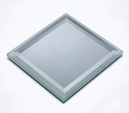 - Darice Bevel Edge Glass, Square, 4 inches Mirror