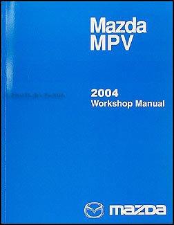 2004 mazda mpv repair shop manual original mazda amazon com books rh amazon com 2004 Mazda MPV Engine Diagram 2004 Mazda MPV LX