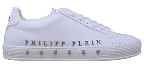 Time In Sneaker First Pelle Bianca Plein The Uomo Philipp SwAYqX