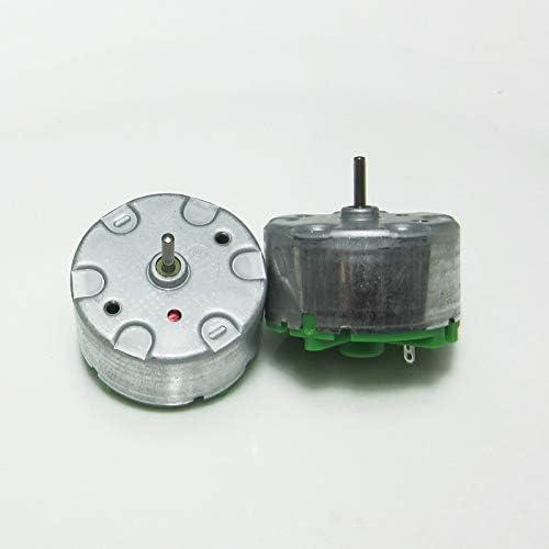 EG-BIANSU, 1 x RF-500TB Motor 6 V 12 V Luftbefeuchter Dauermagnet Warnlicht DC Motor Alarm Aerosol Spender Zubehör
