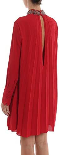 DONDUP Luxury Fashion Femme A985OF0172032500 Rouge Polyester Robe | Automne-Hiver 19