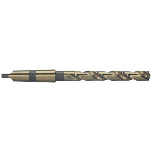 Precision Twist 209CO Cobalt Steel Taper Shank Drill Bit, Bronze Oxide Finish, Morse Taper Shank, Spiral Flute, 135 Degree Point Angle, 13/16
