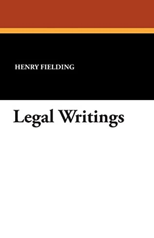 book cover of Legal Writings