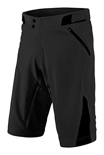Troy Lee Designs Ruckus Short Shell – Men's Solid Black, 34