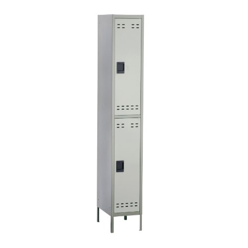 Safco Products 5523GR Double Tier Locker, Gray