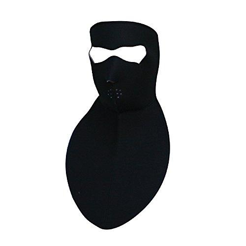 Zan Headgear WNFM114N, Full Mask with Neck Shield, Neoprene, Black