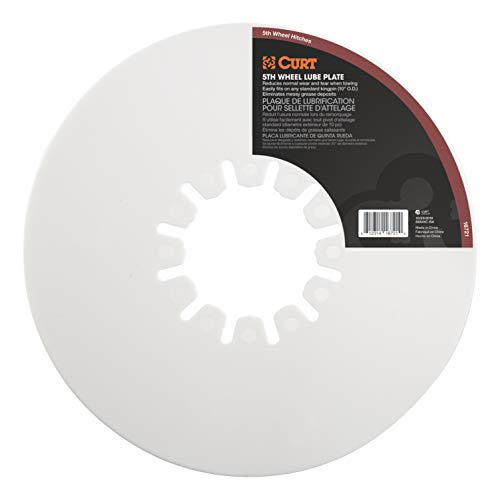 CURT 16721 5th Wheel Hitch Lube Plate, 10-Inch Diameter